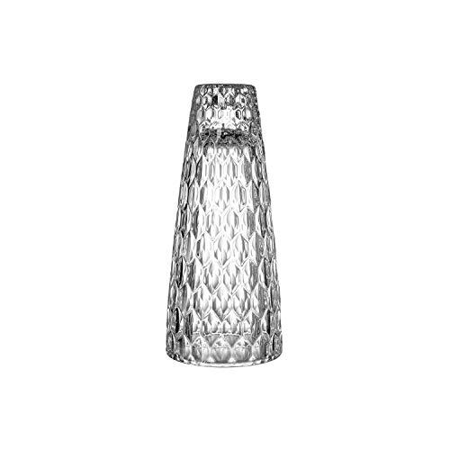 Villeroy & Boch Coloured Boston Candelabro, Supporto Elegante e Decorativo per Candele Sottili, Cristallo, Trasparente, 9,4 cm, Vetro, Transparente