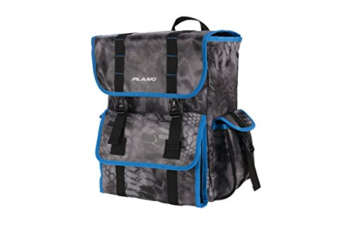 Plano Z Series Tackle Backpack | Rust Free Zipper Less Tackle Storage for Saltwater and Freshwater Tackle | Includes 4 Stowaway Boxes