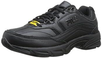 Fila Women s Memory Workshift Cross-Training Shoe,Black/Black/Black,8.5 M US