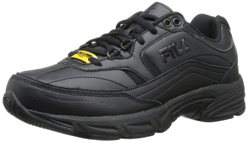 Fila Women's Memory Workshift Training Shoe,Black/Black/Black,10 W US