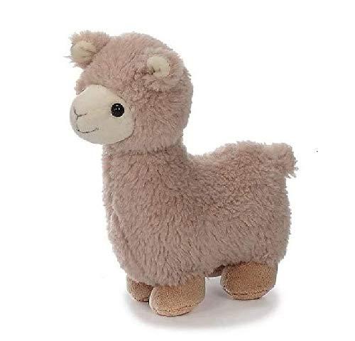 Bavaria Home Style Collection Lama Alpaka - ca 20 cm - Farbe Braun oder Beige - Plüsch, Plüschtier, Plüschlama, Kuscheltier , Kuscheltier für Kinder Spielzeug (beige)