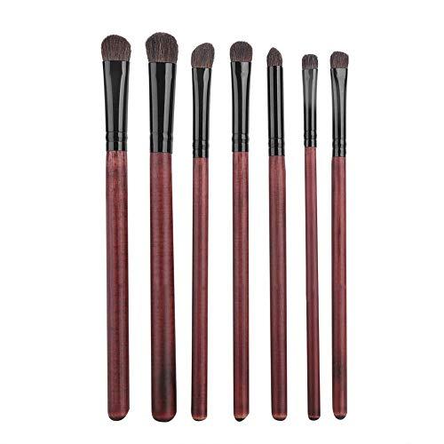 Outil cosmétique de fard à paupières de base de kit de brosse de maquillage avec le sac, approprié à de nouveaux érudits de maquillage et aux maquilleurs professionnels, faciles à porter autour