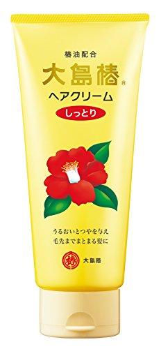Oshima Tsubaki Hair Cream - Moist - 160g
