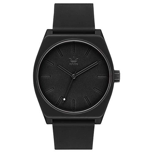 Adidas Unisex Analog Quarz Uhr mit Silikon Armband Z10-001-00