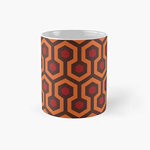 The Shining Carpet Texture Classic Mug | Best Gift Funny Coffee Mugs 11 Oz