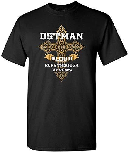 Ostman Blood Runs Through My Veins T-Shirt