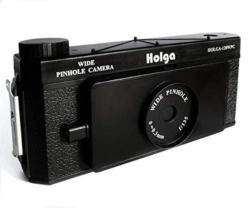 Holga 120 WPC Panoramic Pin Hole Camera Wide Format Film Lomo Camera Black