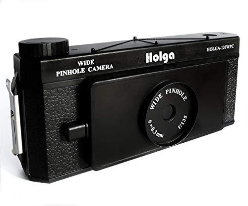 Holga 120 WPC Panorama Pin Loch Kamera Weitformat Film Lomo Kamera Schwarz
