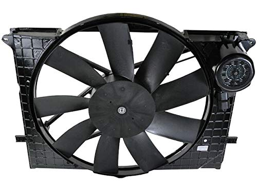 Engine Cooling Fan - Compatible with 2000-2001 Mercedes-Benz S500
