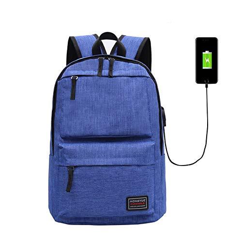 Laptoptas, modieus, USB, schoudertas, modieus, casual, laptoptas, suède, voor mannen en vrouwen op de tweede school.