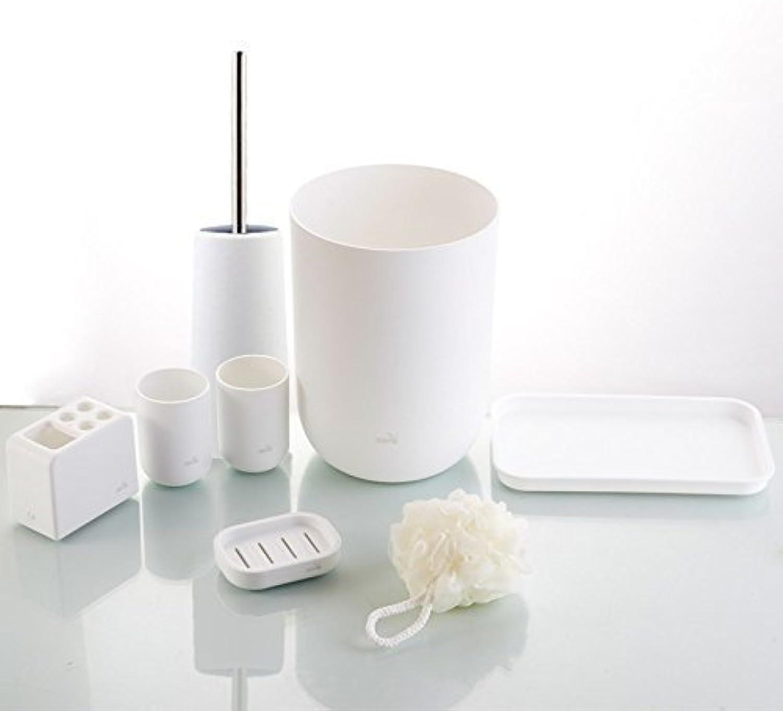 Toilet Brush Toilet Brush Toilet Brush Clean Brush Toilet Toilet Toilet Toilet Toilet Toilet,Seven Pieces of White Bathroom