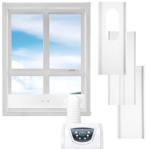 AGPTEK Portable Air Conditioner Window Vent Kit, Window Slide Kit Plate for Exhaust Hose, Support Length Adjustment
