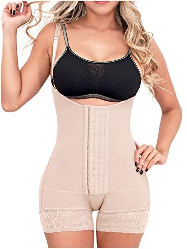 Sonryse 066BF Fajas Colombianas Postparto Moldeadora y Reductora Abdomen Cintura para Mujer