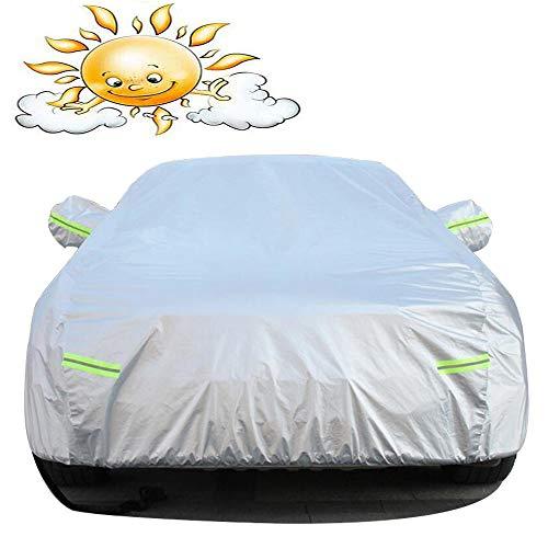 HRFHLHY wasserdichte Car Cover Oxford Cloth Kompatibel mit Porsche,Silber,911