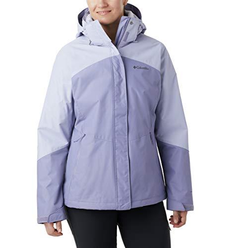 Columbia Women's Bugaboo Ii Fleece Interchange Jacket, Dusty Iris, Twilight, Small