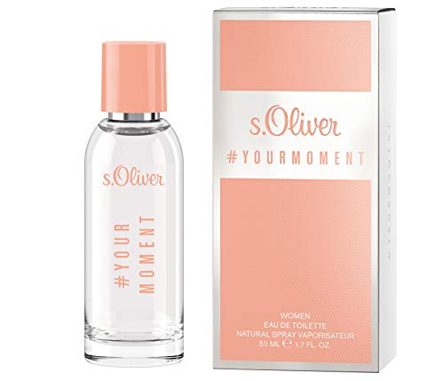 s.Oliver® Your Moment Women I Eau de Toilette - femininer, fruchtiger Duft zum Wohlfühlen I 50ml Natural Spray Vaporisateur