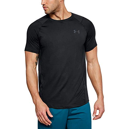Under Armour UA MK-1 H Camiseta de Manga Corta, Hombre, Negro (Black/Stealth...