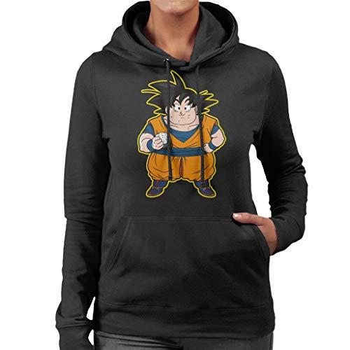 Cloud City 7 Goku Gordo Dragon Ball Z Women's Hooded Sweatshirt