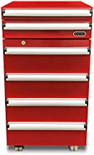 Whynter TBR-185SR Portable Tool Box Refrigerator with 2 Drawers and Lock, 1.8 cu. ft., Red