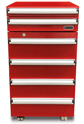 top rated Portable Whinter TBR-185SR Toolbox with 2 drawers and lock, 1.8 cc, red 2020