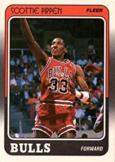 1988-89 Fleer Basketball #20 Scottie Pippen Rookie Card