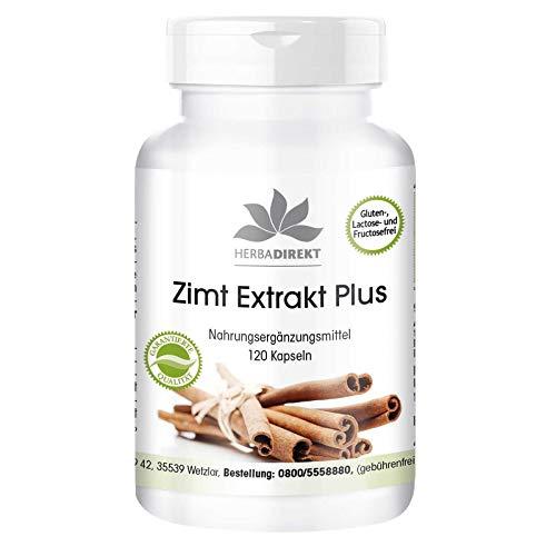 Canela Complex – Extracto de Canela + Cromo + Zinc – 120 comprimidos