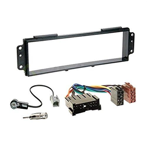 Sound-way 1 DIN Radiopaneel Frame Autoradio, Antenne Adapter, ISO Aansluitkabel, ondersteuning voor Kia Picanto 2007-2011