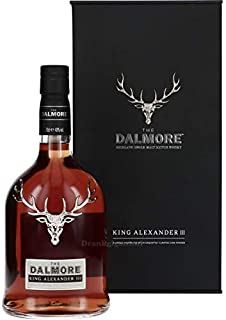 The Dalmore King Alexander III Whisky mit Geschenkverpackung 1 x 0,7l