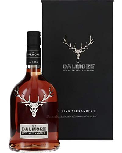 The Dalmore King Alexander III Whisky mit Geschenkverpackung (1 x 0,7l)