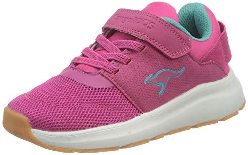 KangaROOS KB-Storm EV, Sneaker Basse, Daisy Pink Ocean, 34 EU