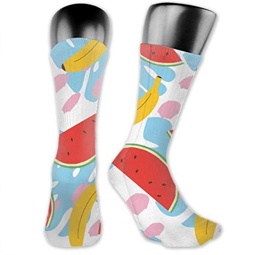 JONINOT 2 paquetes de calcetines deportivos ligeros y cómodos 40CM novedad divertidas...