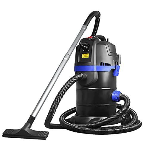 RSTJ-Sjef Suction-Side Pool Cleaner Vacuum with Suction Head and Sewage Pipe, 1700W Fish Pond Sewage Suction Machine Pump for The Cleaning of Swimming Pools and Fish Ponds,Set b