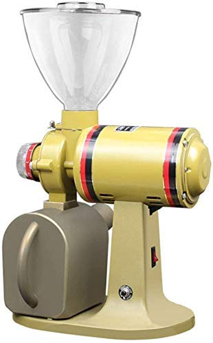 CAIJINJIN Machine à café Moulin à café électrique avec moulins à café Meule en acier inoxydable Italian Mill Bureau haricots ménagers RECTIFIEUSE hachoir/Fine rectifieuse