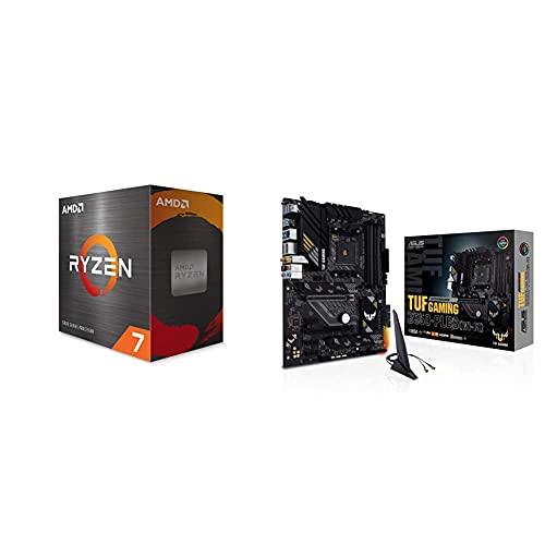 AMD Ryzen 7 5800X 8-core, 16-Thread Unlocked Desktop Processor & ASUS TUF Gaming B550-PLUS...