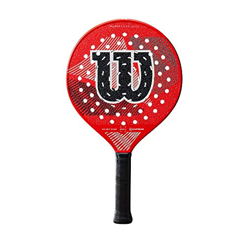 Wilson Sporting Goods Steam Smart Gruuv Racquetball Racquet - 4 1/4 inches, Red, One Size