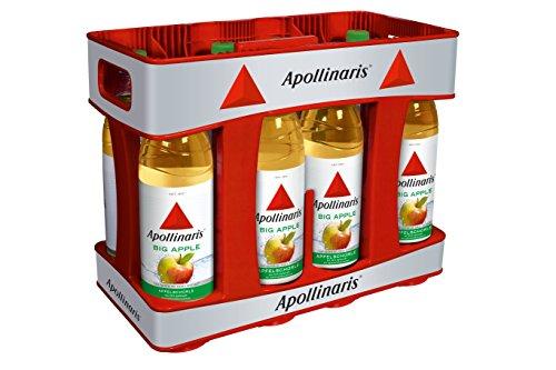 Apollinaris Big Apple MEHRWEG, (10 x 1,0 l)