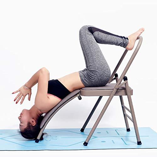 Kopfstandhocker Kopfstand-Yogastuhl, Safe Yoga Kopfstandstuhl Yoga Kopfstand...