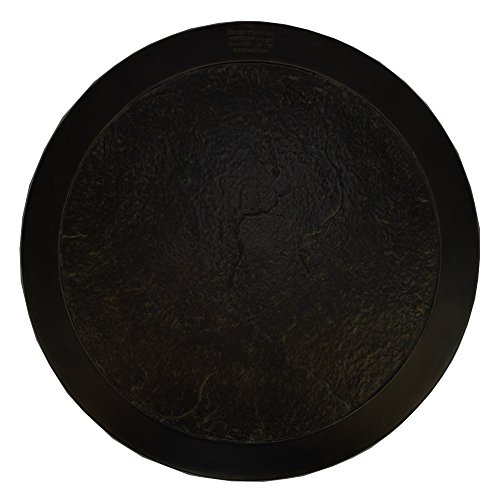 """CC Outdoor Living 22"""" Antique Bronze Round Heavy Duty Lazy Susan and Fire Pit Table Cover"""