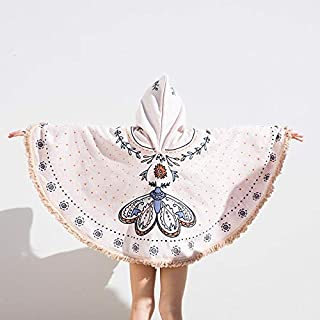 The Beach People(ザ ビーチ ピープル) The Butterfly Petite Poncho ピンク マルチ TB.T34.03.PW [並行輸入品]
