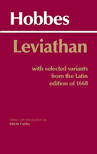 Leviathan: With selected variants from the Latin edition...