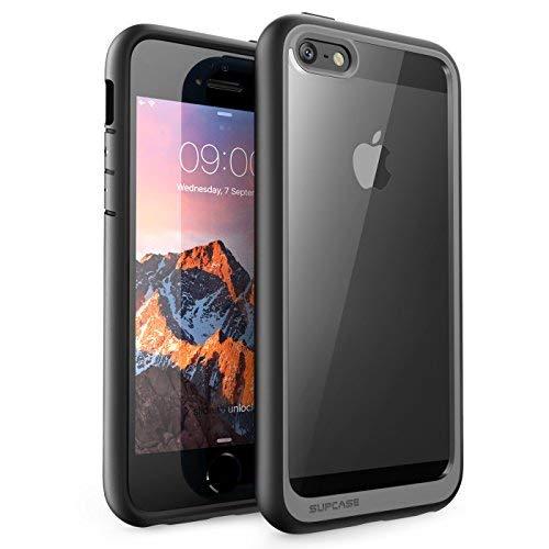 SUPCASEUnicornBeetleStyleSérie,CapaProtetoraClaraHíbridaPremiumparaAppleiPhoneSE/iPhone5S/iPhone5(Preto)