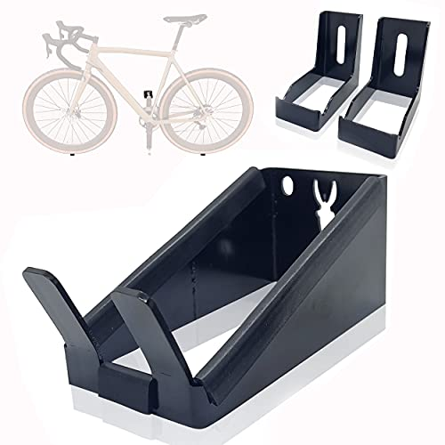 Wall mount bike rack. Support to hang the bicycle on the wall by the pedal. Horizontal support. Compatible with all types of bikes.