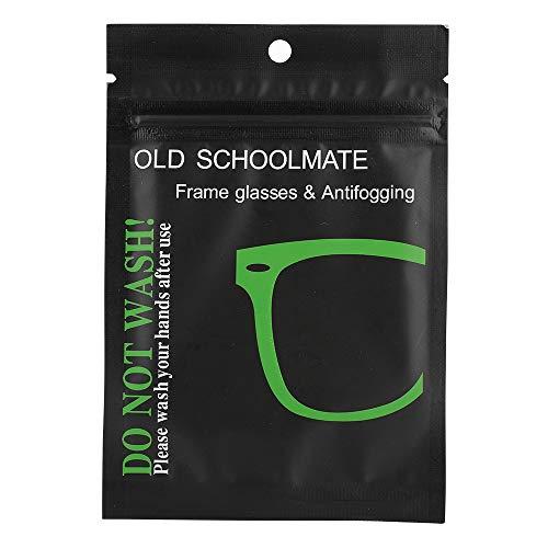 Bolange Paño antivaho para gafas, 4 piezas de Nano Antinieb