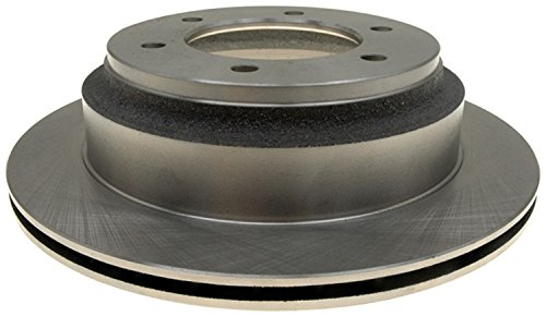 ACDelco 18A570A Advantage Non-Coated Rear Disc Brake Rotor