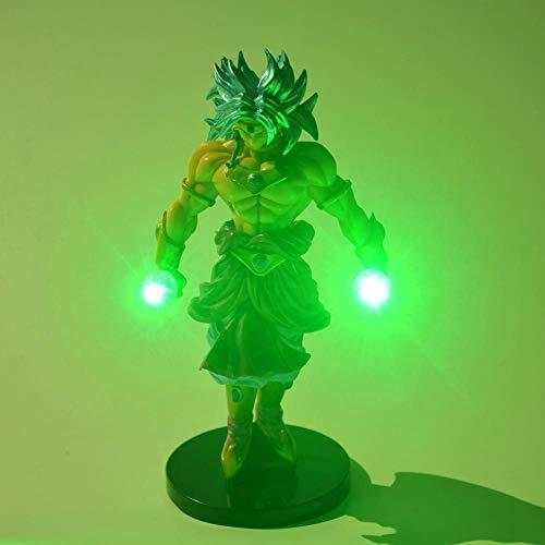 MFBis Dragon Ball Broli Nachtlicht PVC Action Figure DIY Anime Modell Spielzeug Dekorative Beleuchtung Mehrere farben LED Tischlampe Sammeln Geburtstagsgeschenk für Kinder, bunte