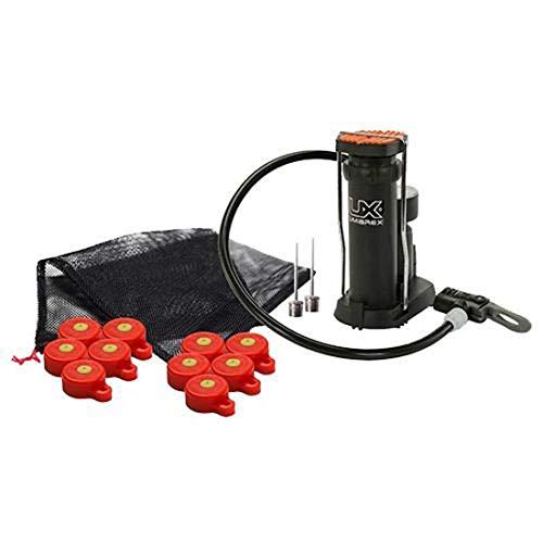 Umarex Big Blast BB Gun and Pellet Gun Target Inflator Kit, 10 Pack with Foot Pump