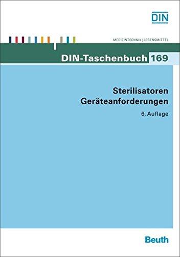 Sterilisatoren, Geräteanforderungen (DIN-Taschenbuch)