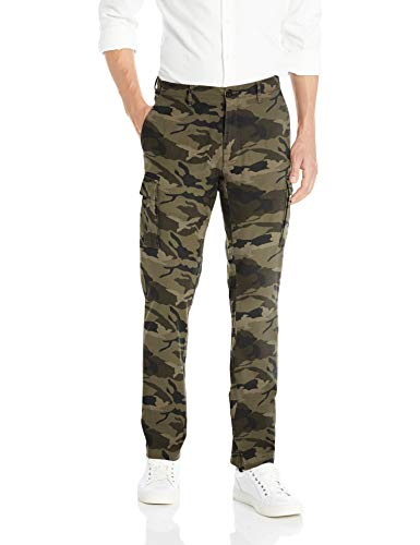 Goodthreads Men's Straight-Fit Ripstop Cargo Pant, -camo, 34W x 30L