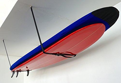 StoreYourBoard Surf Hi-Line | Adjustable Surfboard Ceiling Storage (X-Large)