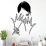BFMBCH Modern Nail Salon Adesivi murali in vinile Decorativi Decorazioni per saloni di bellezza...